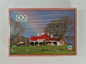 New - Vintage 1980's Australian Cottages Jigsaw Puzzle 500 Pieces Arrow Puzzles