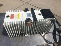 Pfeiffer Vacuum Pump DUO-016-B 120/208v 9 CFM *Works*