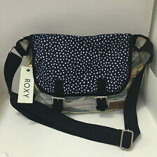 NEW ARRIVAL! ROXY BLUE YELLOW FLAP BUCKLE CROSSBODY SLING MESSENGER BAG PURSE