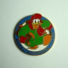Disney Pin Dlr Cast Member Happy Holidays 1999 Working Pin Donald Duck