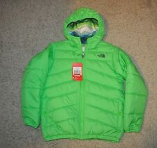 NWTS North Face Reversible Perrito Jacket Coat Youth 18-20 XL Green Boy's