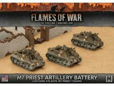 Flames of War UBX54 American M7 Priest Armored Artillery Battery FOW 15mm WWII