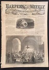 1865 CW newspaper CAPTURE  SAMUEL MUDD Confederate Prison Andersonville Trial