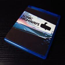 "Foo Fighters - Sonic Highways 2015 USA Blu-ray 3-Disc Set ""Region: A"" Very Good"