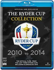 Ryder Cup Official Ultimate Collection 2010 -2014 (Blu-ray)