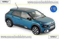 Citroën C4 Cactus 2018 Emeraude Blue & White deco  NOREV - NO 181660 - 1/18
