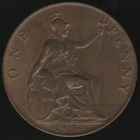1904 Edward VII One Penny Coin | British Coins | Pennies2Pounds