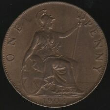 More details for 1904 edward vii one penny coin | british coins | pennies2pounds