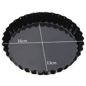 Round Bread Cake Mold Pan Tin No Stick Pizza Pastry Baking Tray Mould DIY-