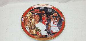 Bradford Exchange Michael Jordan Return To Greatness The 4th Title Plate