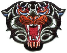 BLACK PANTHER colorful design EMBROIDERED IRON-ON PATCH **FREE SHIP -tiger p3485