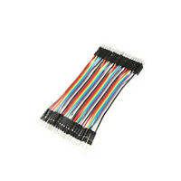 40pcs Dupont 10CM Male To Male Jumper Wire Ribbon Cable for Arduino Breadboard B