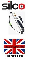 Youth/Child Black & Green Compound Archery Bow 12Lbs Kit Set 2 X Arrows & Access
