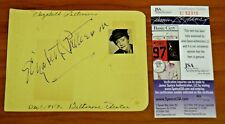 Elizebeth Patterson Signed Album Page Mrs Trumbull I Love Lucy Died 1966 JSA COA