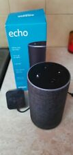 Amazon Echo 2nd Generation Smart Speaker with Alexa - Charcoal Grey