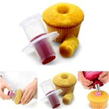 Newest Plastic Cake Tools Corer Plunger Cutter Decorating Pastry Divider Filler