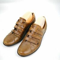 Women's ECCO Size 9 Shock Point Brown Loafers
