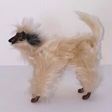 Beauty Barbie Dog 1979 Vintage Mattel Afghan Hound  Poseable Articulated