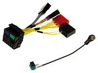KFZ Auto Radio Navi Antennen Adapter Kabel Satz Einbau Set für Audi RNS-E