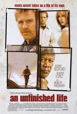 AN UNFINISHED LIFE Movie POSTER 27x40 Jennifer Lopez Robert Redford Morgan