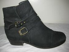 Joie Leather Black' Ankle Boots Women's shoes Size 36 / 5.5