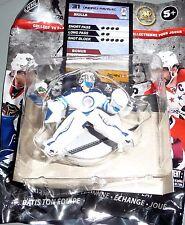 "ONDREJ PAVELEC Winnipeg Jets 2.5"" Series 1 Silver NHL Imports Dragon Toy LOOSE"