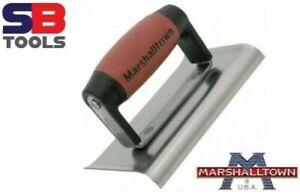 "Marshalltown Curved Edging Trowel M155SSD 6"" x 4"" Concrete Trowel Cement Edger"