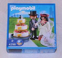 playmobil 4298 Brautpaar mit Hochzeitstorte Hochzeit Heirat Braut NEU OVP