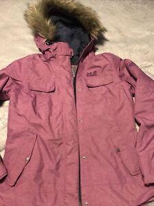jack wolfskin Winter Coat Size 12/14