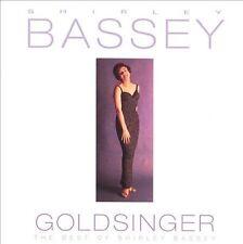 New, Sealed SHIRLEY BASSEY - Goldsinger: Best of CD (Greatest Hits, 26 Tracks)
