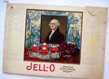 "Delightful 1926 ""Jell-O"" Booklet w/ Menus and Recipes - International Theme *"