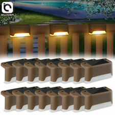 4-20Pcs Solar Led Bright Deck Lights Outdoor Garden Patio Railing Path Lightings