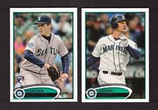2012 Topps SEATTLE MARINERS Team Set w/ Updates 36 Cards Mint