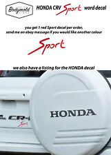 SPECIAL SET HONDA and Sport word x 2
