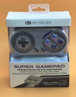 MY ARCADE Super Gamepad Wireless Turbo Controller for NES & SNES Classic Edition