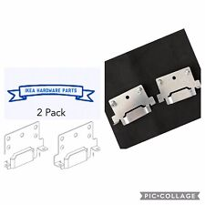 2 Pack ikea Bedframe Center Beam Mounting Plate for Hemnes Part# 116791 W/SCREWS