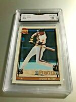 BARRY BONDS 1991 Topps #570 GMA Graded 10 Gem Mint