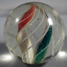 "BB Marbles: Antique Ribbon Core Swirl. 29/32"". Mint 9.9. (B307)"