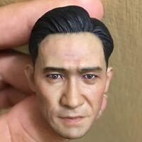 "1:6 Scale Asian Tony Leung Chiu Wai Head Sculpt Lust, Cauti F12"" Male Action"