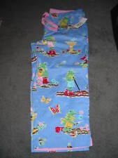 New listing Nwt*Nick And Nora*Small*Frogs Gardening*Pajama Capri Pants*Blue