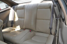1992-1998 Lexus SC300 SC400 Genuine Leather Seat Covers Tan Only Rear