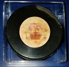 Vintage Art Ross Converse LA Kings Puck 1969-1977 (( GAME USED CHUCKS MISSING ))