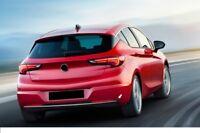 2015UP VAUXHALL Opel Astra K Chrome Rear Bumper Streamer 1Pcs Stainless Steel
