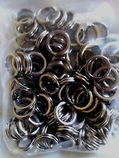 SPLIT RINGS 10mm x 100 Pack! 304 STAINLESS STEEL MARINE GRADE FISHING LURES