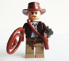 LEGO INDIANA JONES minifigure minifig from 7621 with accessories like new