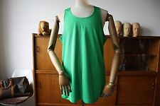 Erima SPORT SHIRT d8 GREEN XL WEST GERMANY muscolare Top 70er maglia True Vintage