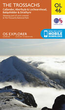 THE TROSSACHS Map - OL 46 - OS  Ordnance Survey - *NEW* INC. MOBILE DOWNLOAD