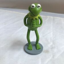 Disney Muppets Kermit the Frog PVC Figure or Cake Topper Gray Base 3.5""