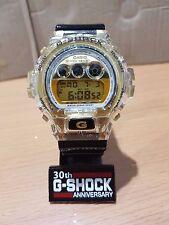 Vintage G-Shock DW-6900 NE Luxury Hip-Hop Custom Jelly Gold Black Limited Nice!