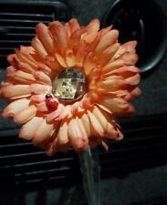 Gerbera Fleur VW Beetle Universel T4 T5 Mink Brown /& White VW fleurs